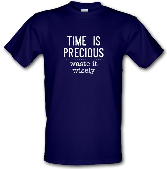 Time Is Precious - Waste It Wisely T-Shirts for Kids