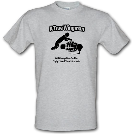 A True Wingman t-shirts