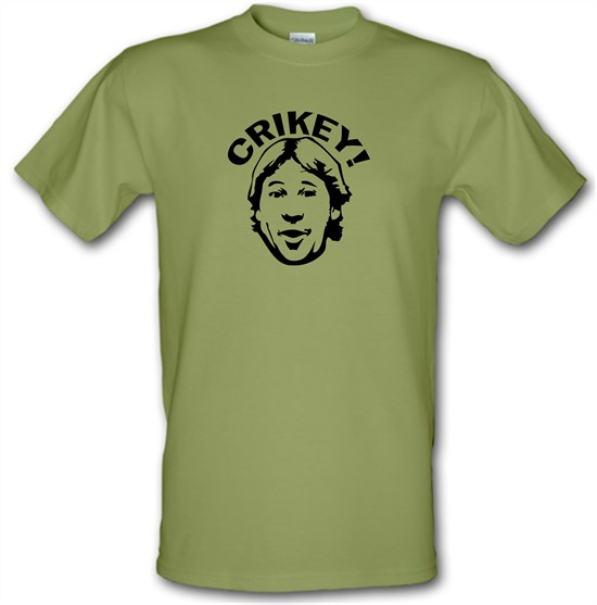 Crikey! its croc savin' time t-shirts