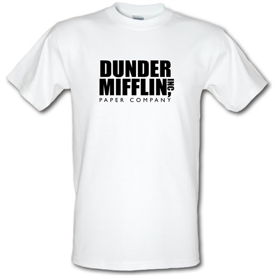 Dunder Mifflin Inc Paper Company t-shirts