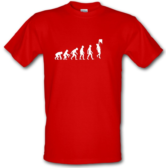 Evolution Of Man Rock Climbing t-shirts