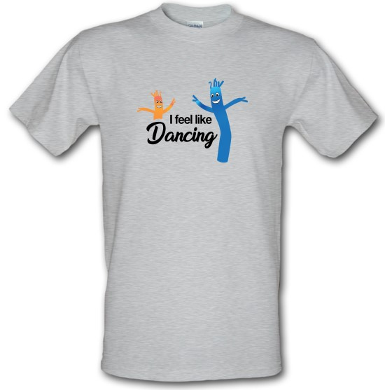 I Feel Like Dancing t-shirts