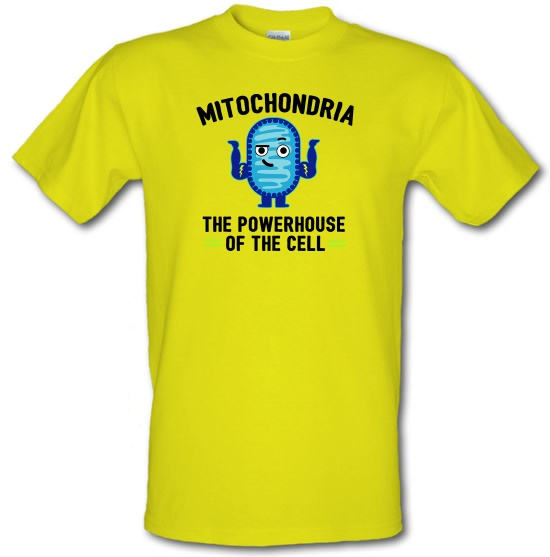 Mitochondria - The Powerhouse Of The Cell t-shirts