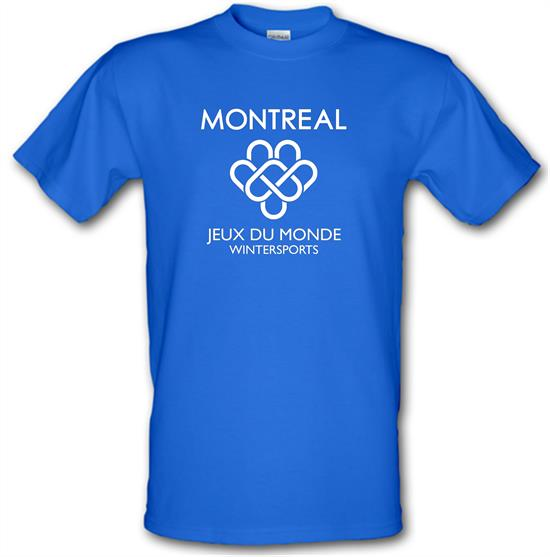Montreal Wintersports t-shirts