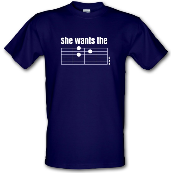 She Wants The D t-shirts