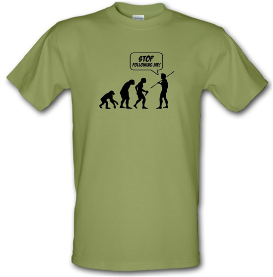 Stop Following Me! t-shirts