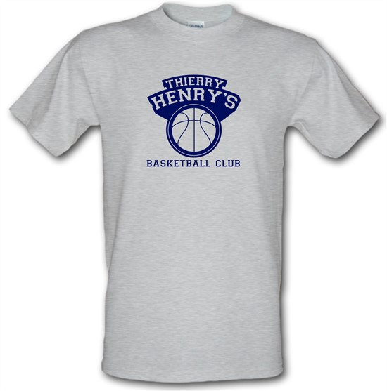 Thierry Henry's Basketball Club t-shirts