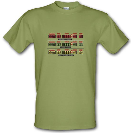 Time Machine Circuits t-shirts
