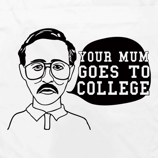 Your Mum Goes To College Apron