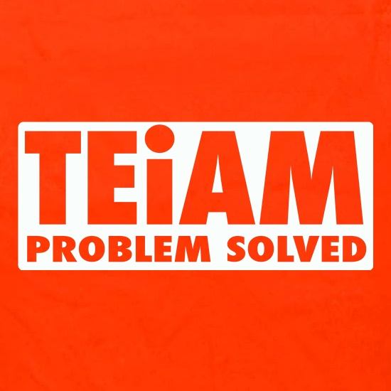 Teiam Problem Solved Apron