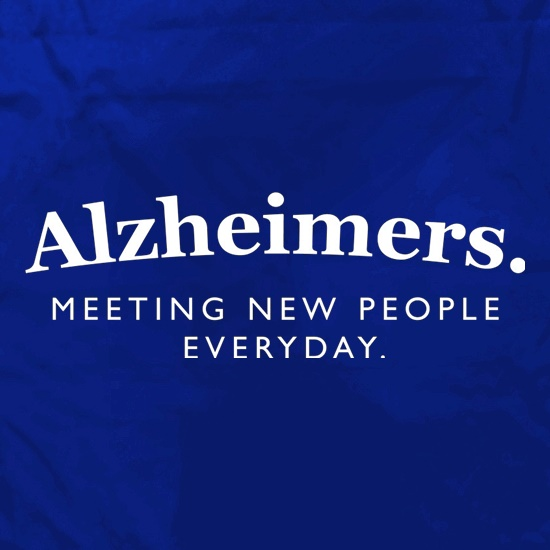 Alzheimers Meeting New People Everyday Apron
