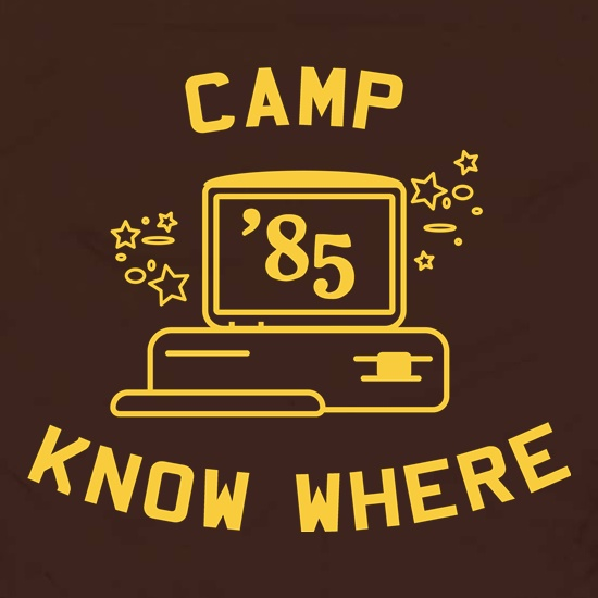 Camp Know Where Apron