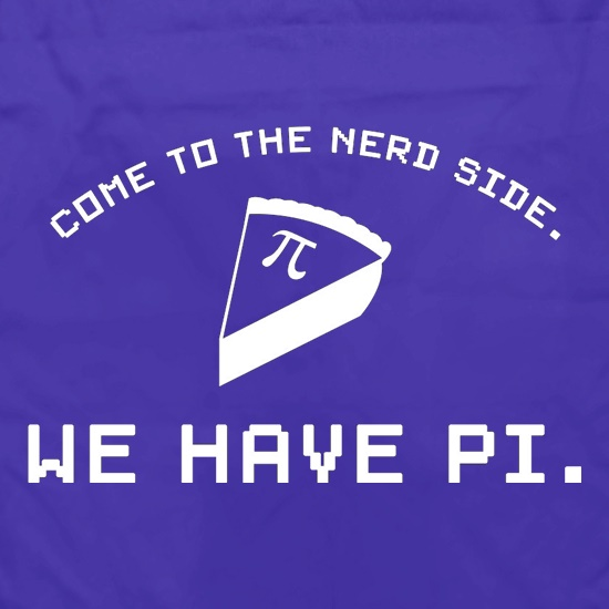 Come To The Nerd Side. We Have Pi Apron