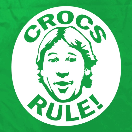 Crocs Rule! Apron