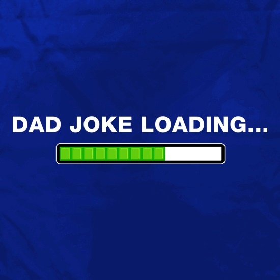 Dad Joke Loading... Apron
