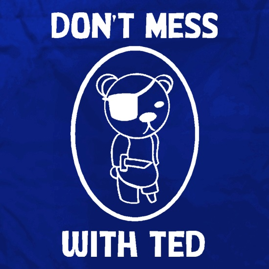 Don't mess with ted Apron