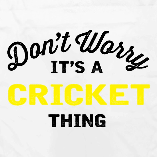 Don't Worry It's A Cricket Thing Apron