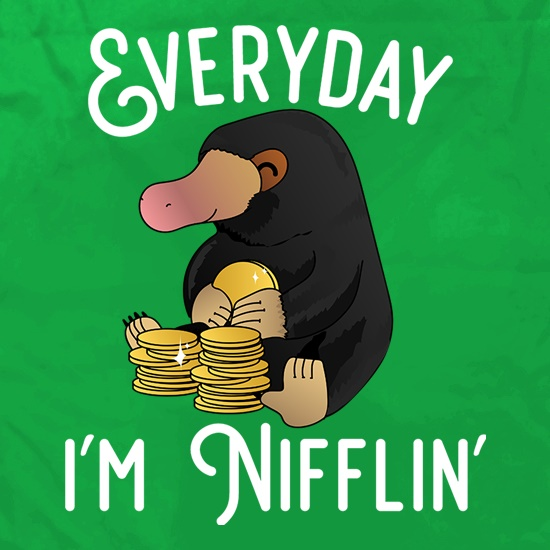 Everyday I'm Nifflin' Apron