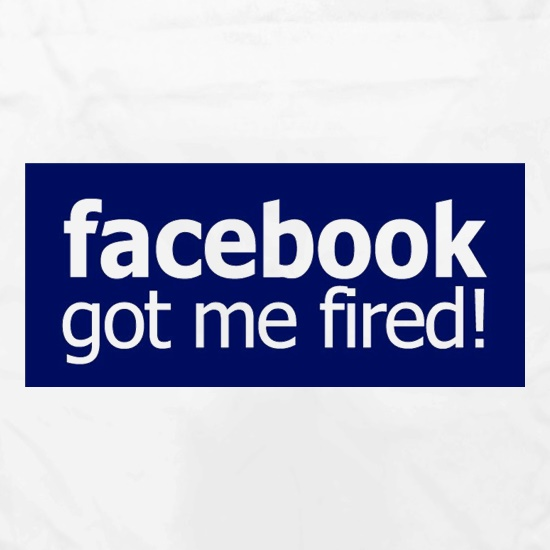 Facebook Got Me Fired Apron