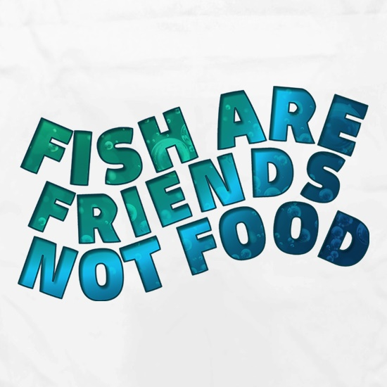 Fish Are Friends, Not Food Apron