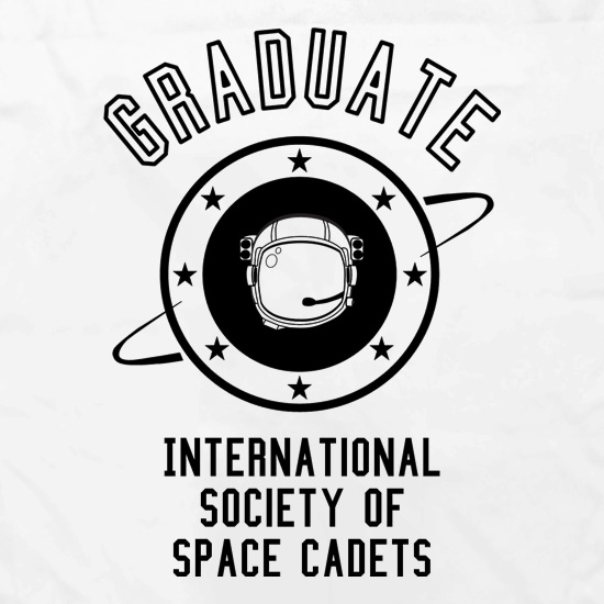 Graduate - International Society of Space Cadets Apron