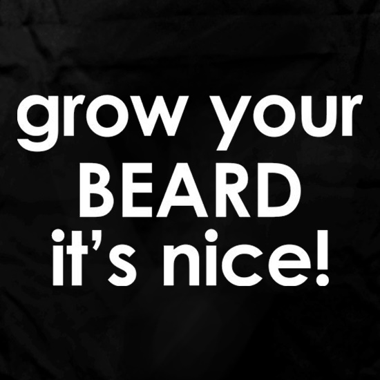 Grow Your Beard It's Nice! Apron