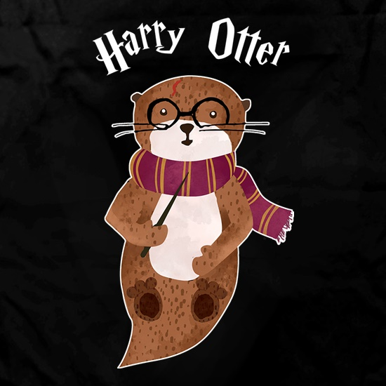 Harry Otter Apron