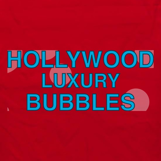 Hollywood Luxury Bubbles Car Wash Apron