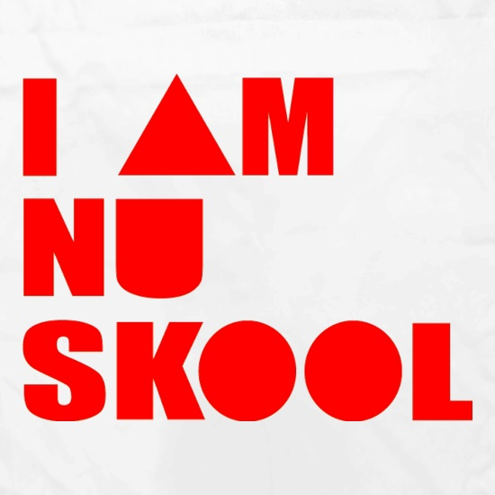 I am Nu Skool Apron