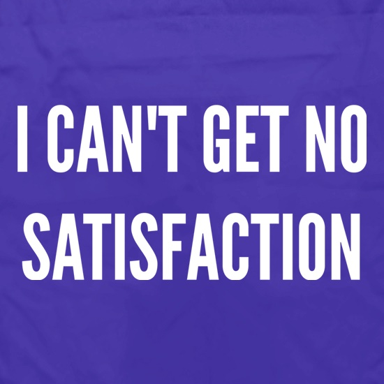 I Can't Get No Satisfaction Apron