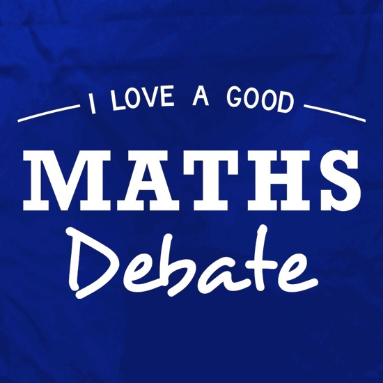 I Love A Good Maths Debate Apron