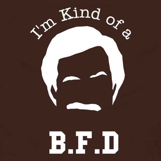 I'm kind of a BFD Apron