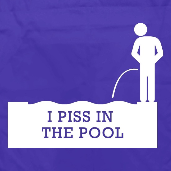 I Piss In The Pool Apron