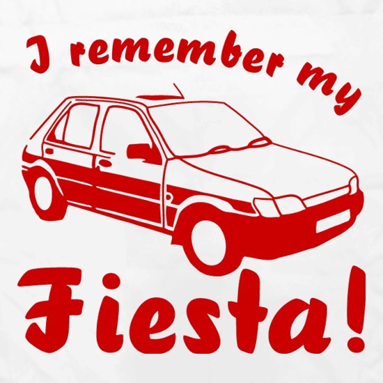 I Remember My Fiesta! Apron