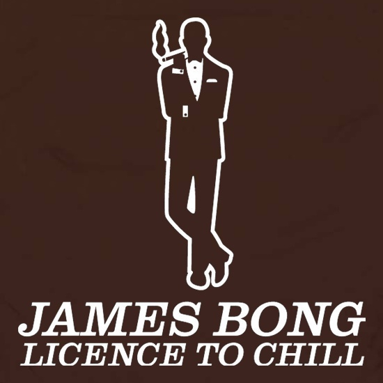 James Bong Licence To Chill Apron