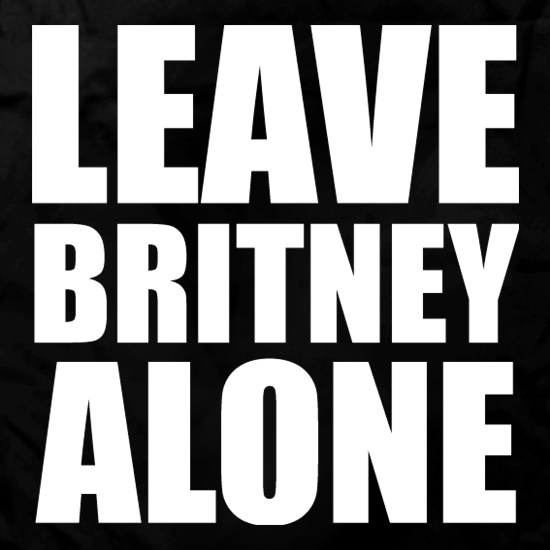 Leave Britney Alone Apron