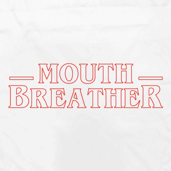 Mouth Breather Apron