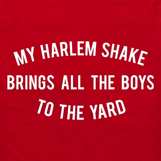 My Harlem Shake Brings All The Boys To The Yard Apron
