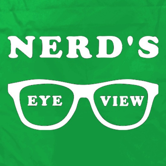 Nerd's Eye View Apron