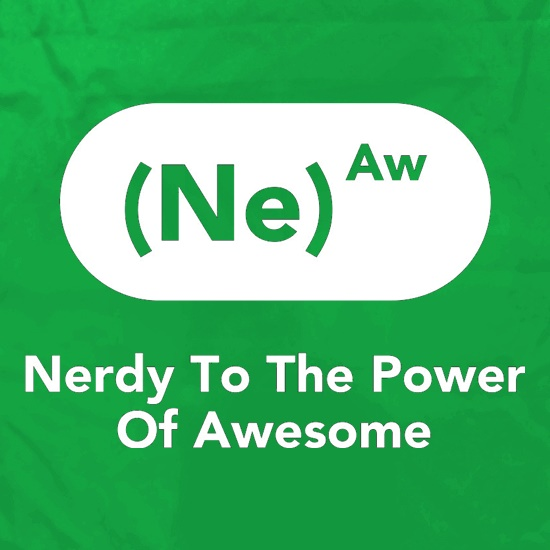 Nerdy To The Power Of Awesome Apron