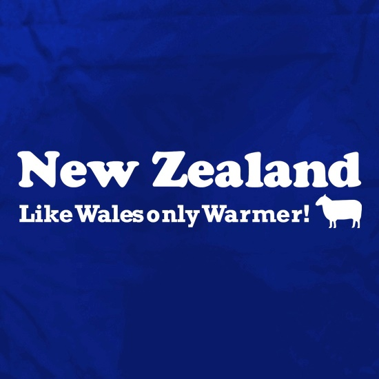 New Zealand, Like Wales only Warmer Apron