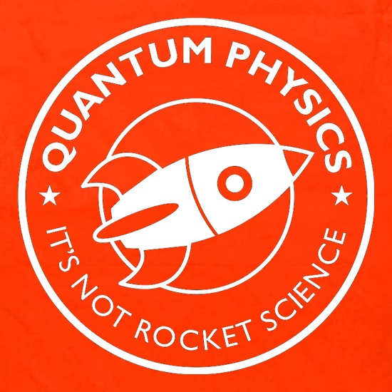 Quantum Physics It's Not Rocket Science Apron