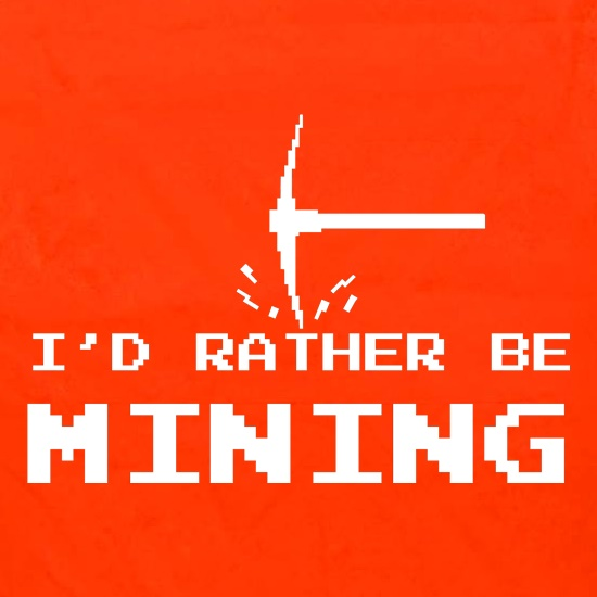 Rather Be Mining Apron