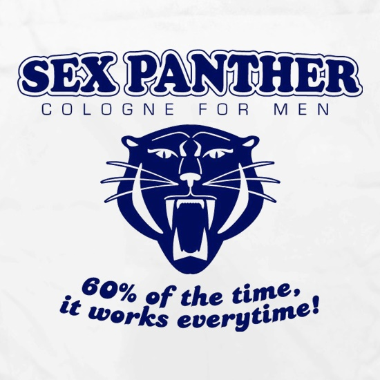 Sex panther 60% of the time it works everytime Apron