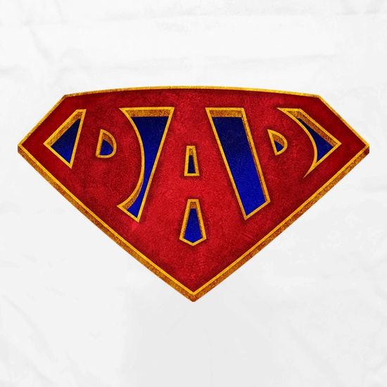 Super Dad Badge Apron