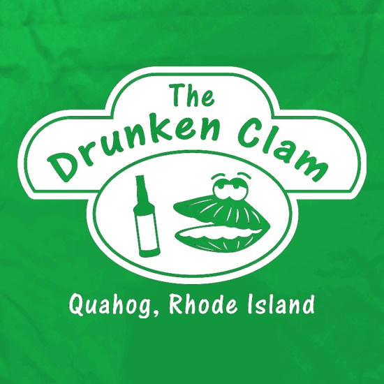 The Drunken Clam Apron