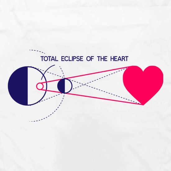 Total Eclipse Of The Heart Apron