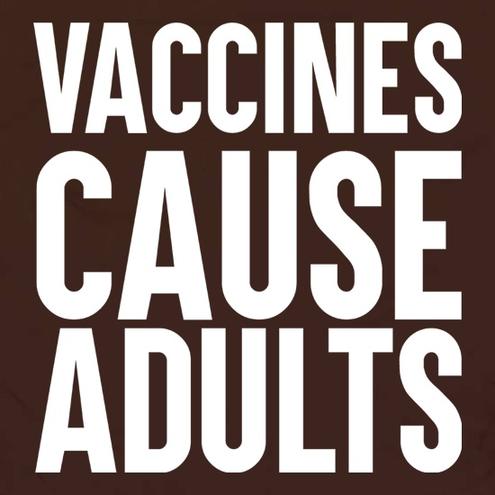Vaccines Cause Adults Apron