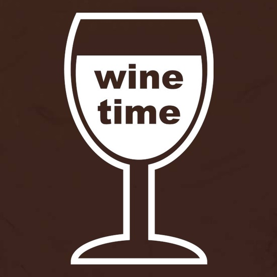 Wine Time Apron