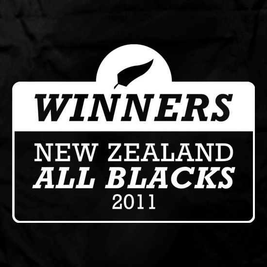 Winners New Zealand All Blacks Apron